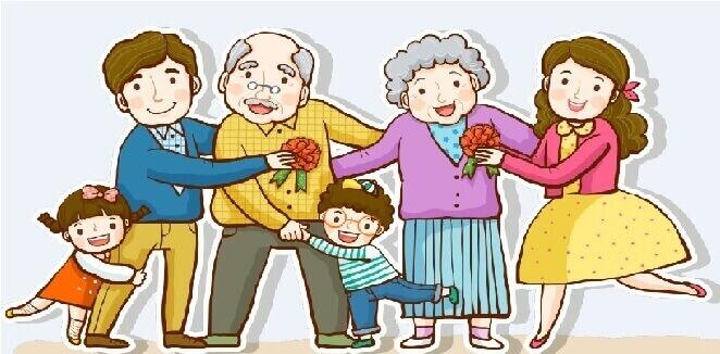 50+ Từ vựng Tiếng Anh về gia đình, Chủ đề gia đình 7