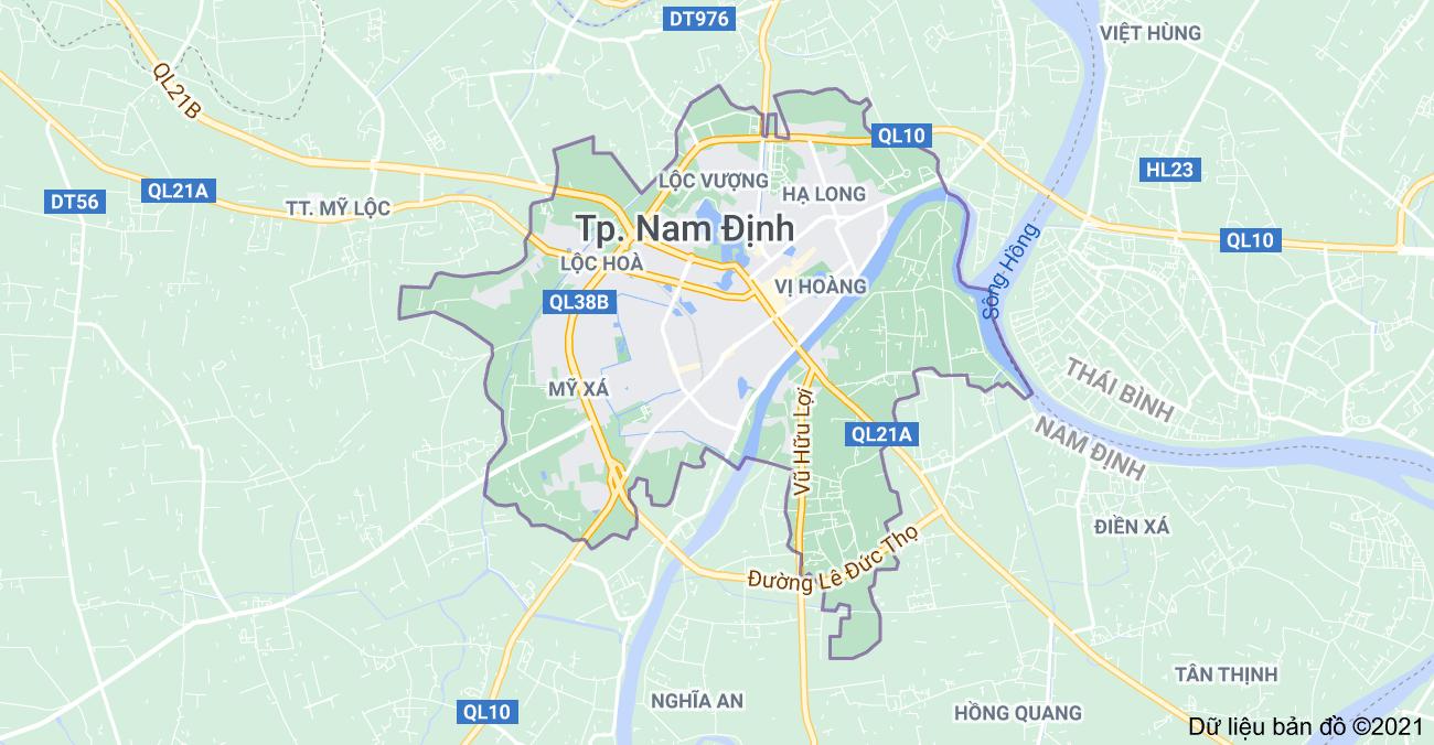 Tỉnh Nam Định có bao nhiêu Thành Phố, Huyện, Thị Xã, Thị Trấn?
