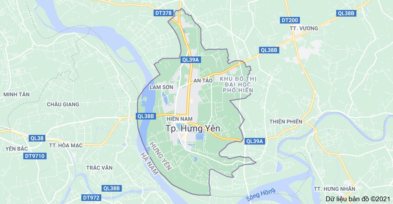 Tỉnh Hưng Yên có bao nhiêu thành phố, thị xã, huyện, phường, thị trấn?